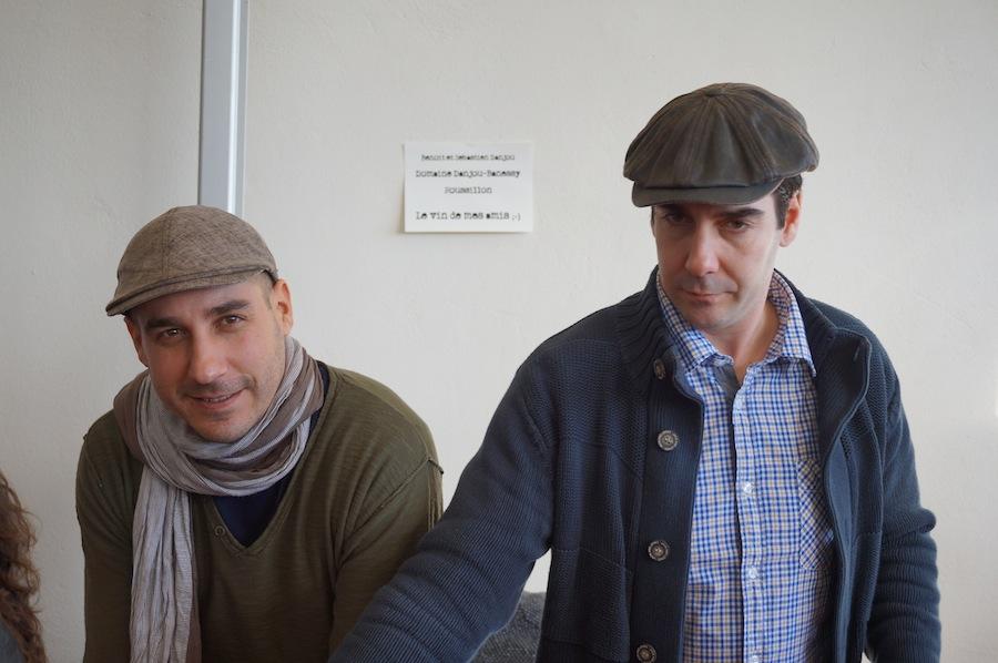 Benoît Danjou (à gauche) et son frère